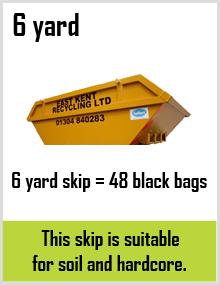 6 yard Skip